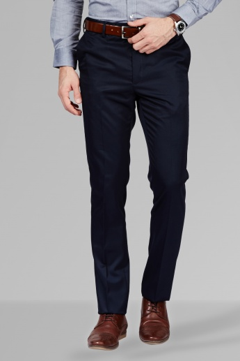 ARROW Formal Flat Front Trousers
