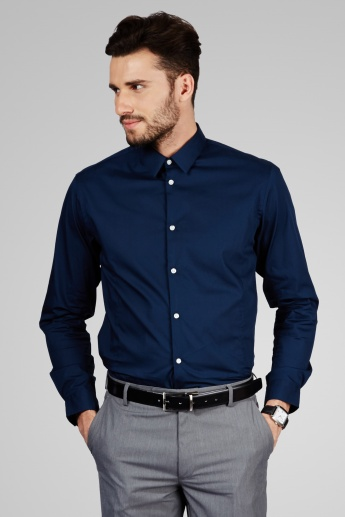 ARROW NEW YORK Solid Full Sleeves Shirt