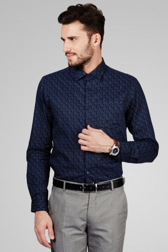 ARROW NEW YORK Printed Formal Shirt