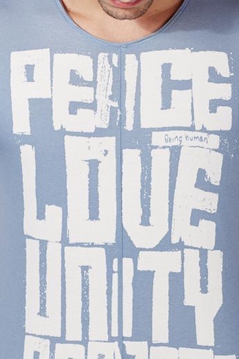 BEING HUMAN Peace Love Unity Respect T-Shirt
