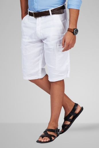 CELIO Solid Casual Shorts
