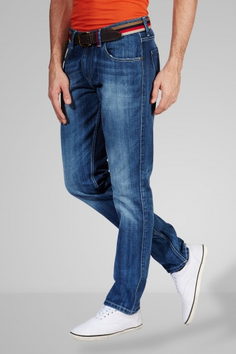 FORCA Stonewash Slim Fit Jeans