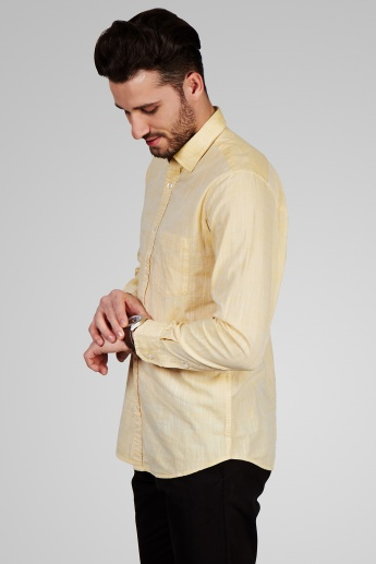COLORPLUS Solid Casual Shirt