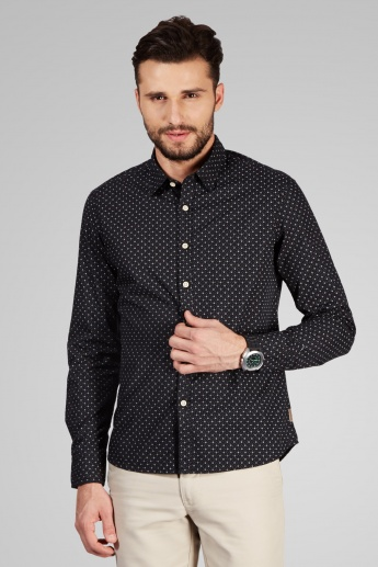 FLYING MACHINE Printed Full Sleeves Shirt