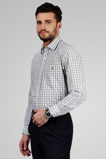 LP Checked Full Sleeves Shirt