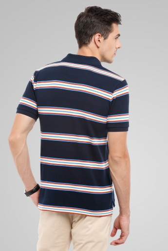 U.S. POLO ASSN. Striped Polo T-Shirt