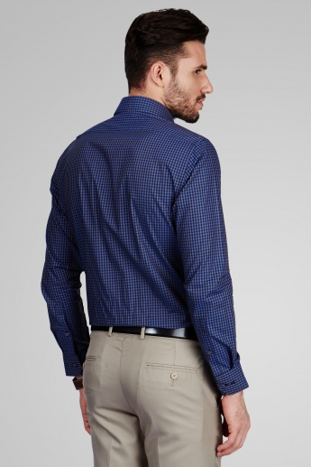 VAN HEUSEN Checked Full Sleeves Shirt