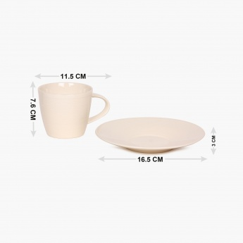 HOME CENTRE Nice And Easy Cup Saucer