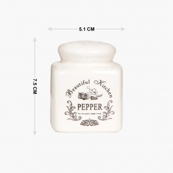 HOME CENTRE Beautiful Home Dolomite Pepper Shaker