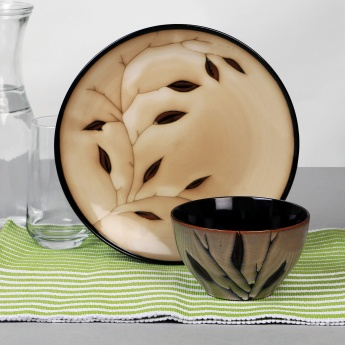 HOME CENTRE Petunia Stoneware Cereal Bowl