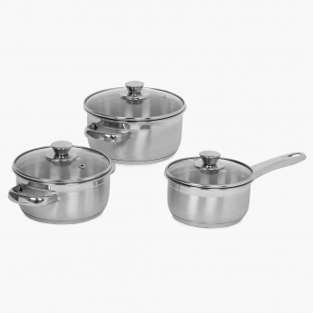 HOME CENTRE Bermen Cook And Serve Set- 3 Pcs.