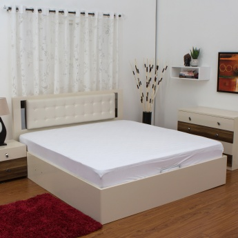 HOME CENTRE Marshmallow Double Bed Mattress Protector