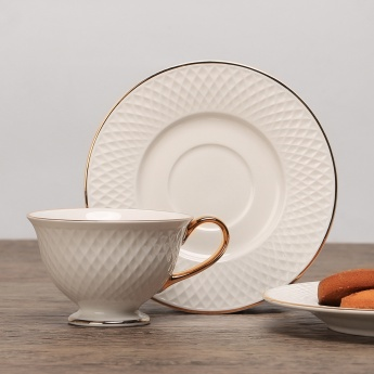 HOME CENTRE Divine Cup And Saucer