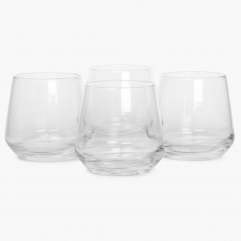 HOME CENTRE Firenze Glass Set- 4 Pcs.