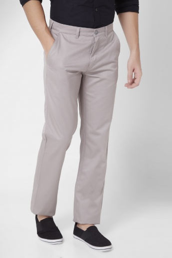 COLORPLUS Flat Front Chinos