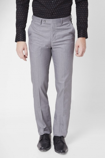 CODE Flat Front Trousers