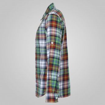U.S. POLO KIDS Plaid Checks Full Sleeves Shirt