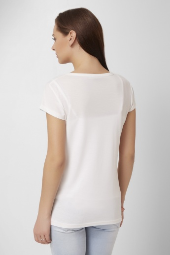 GINGER Stylish Silhouettes Top