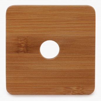 HOME CENTRE Edulis Bamboo Coaster Set