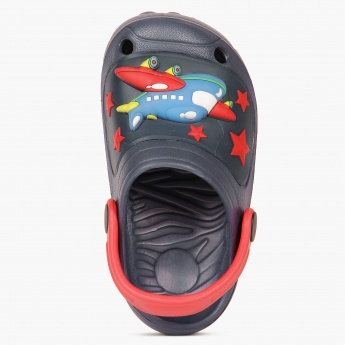 JUNIORS Airplane Clog Slippers