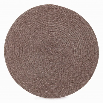 HOME CENTRE Cinder Rosea Round Placemat