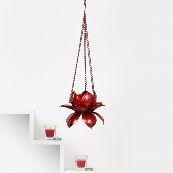 HOME CENTRE Majestic Hanging Lotus Tealight Holder