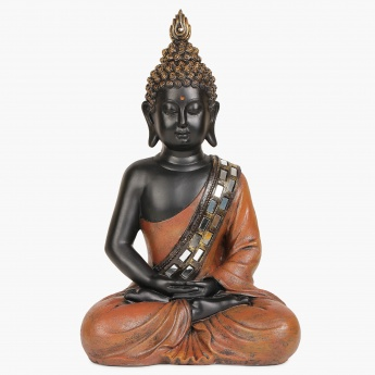HOME CENTRE Alpana Meditating Buddha Figurine