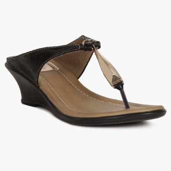 RAW HIDE Entwined Wedges