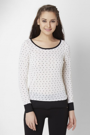 BOSSINI Polka Pop Full Sleeves Top