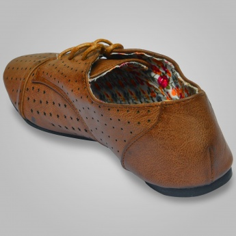 GINGER Tie-Up Shoes