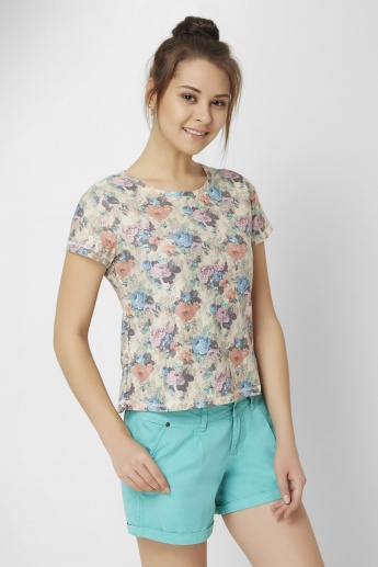GINGER Floral Print Top