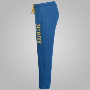 JUNIORS Solid Straight Cut Trackpants