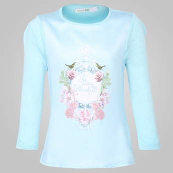 BOSSINI Blissful Printed Top