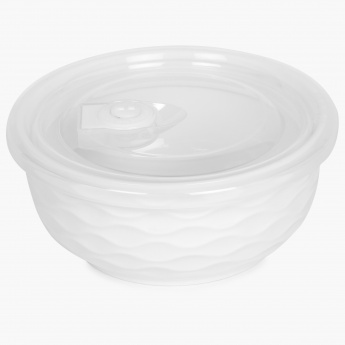HOME CENTRE Brook Ceramic Bowl With Lid