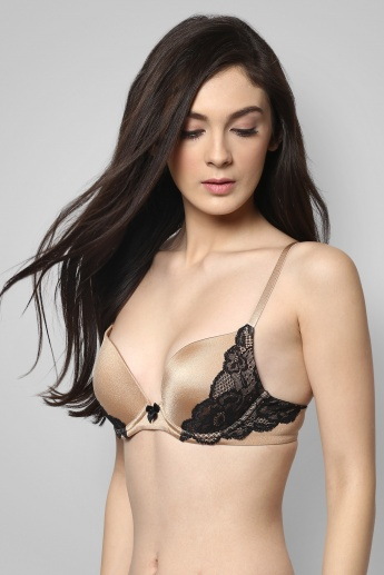 AMANTE Padded Push-Up Bra