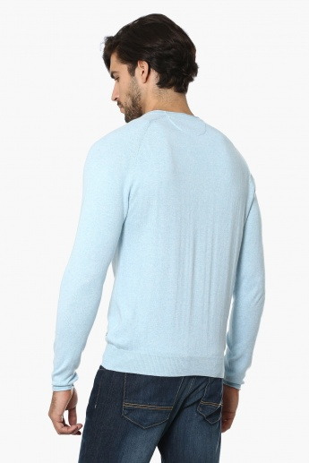 BOSSINI Crew Neck Full Sleeves Sweater