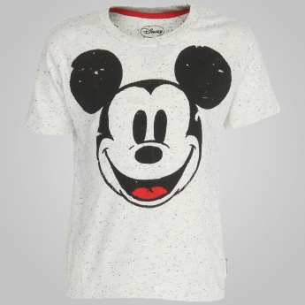 KIDSVILLE Mickey Mouse Short Sleeves T-Shirt