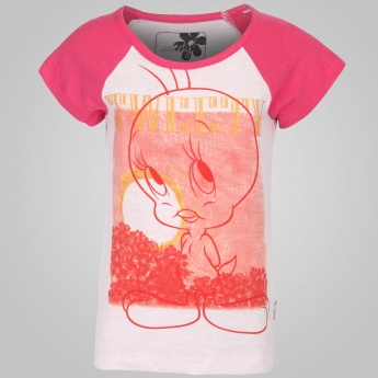 KIDSVILLE Tweety Printed Top