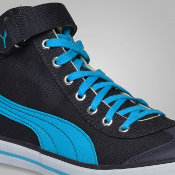 PUMA High-Ankle Canvas Sneakers