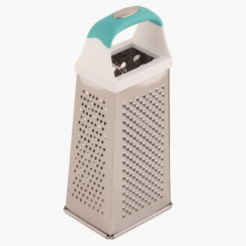 HOME CENTRE Pelican Four Side Grater With Teal Handle