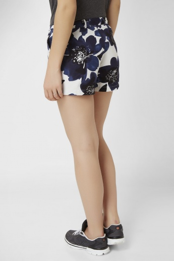 ONLY Floral Print Shorts