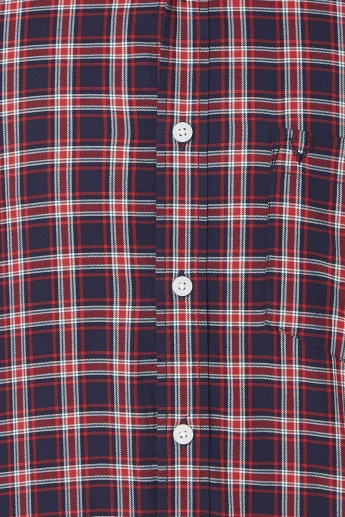 FLYING MACHINE Checked Full Sleeves Shirt