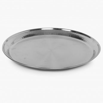 HOME CENTRE Stainless Steel Plate