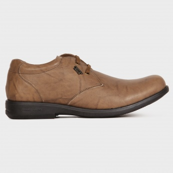 FRANCO LEONE Tan Rush Lace-Up Shoes