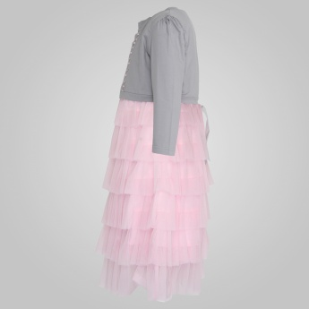 PEPPERMINT Tulle Ruffle Dress