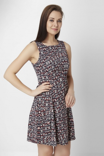 ONLY Printed Sleeveless Dress