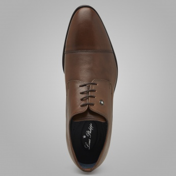 LOUIS PHILIPPE Cap Toe Shoes