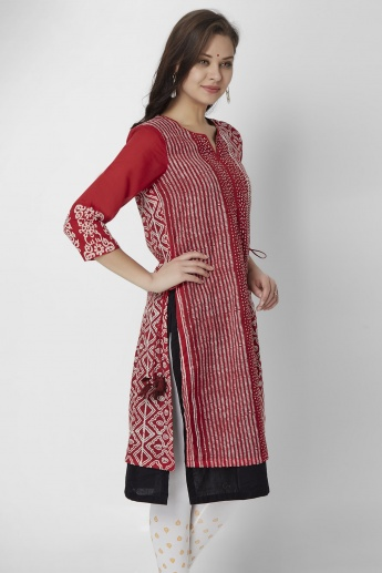BIBA Full Sleeves Knitted Kurti
