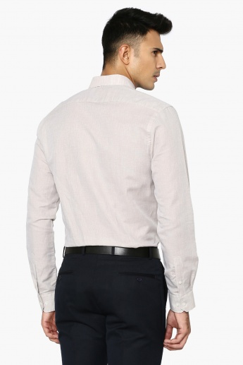 CODE Slim Fit Full Sleeves Shirt