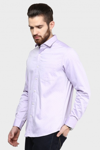 CODE Printed Full Sleeves Shirt